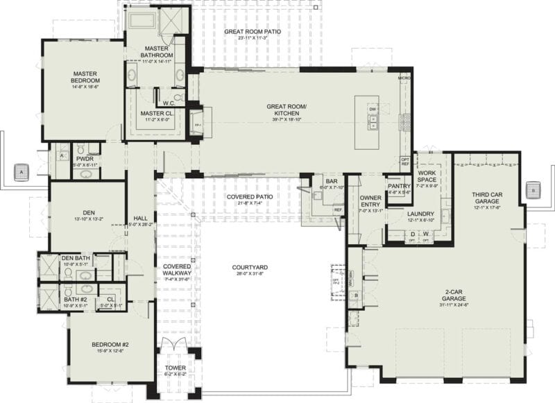 Enchantment Floorplan