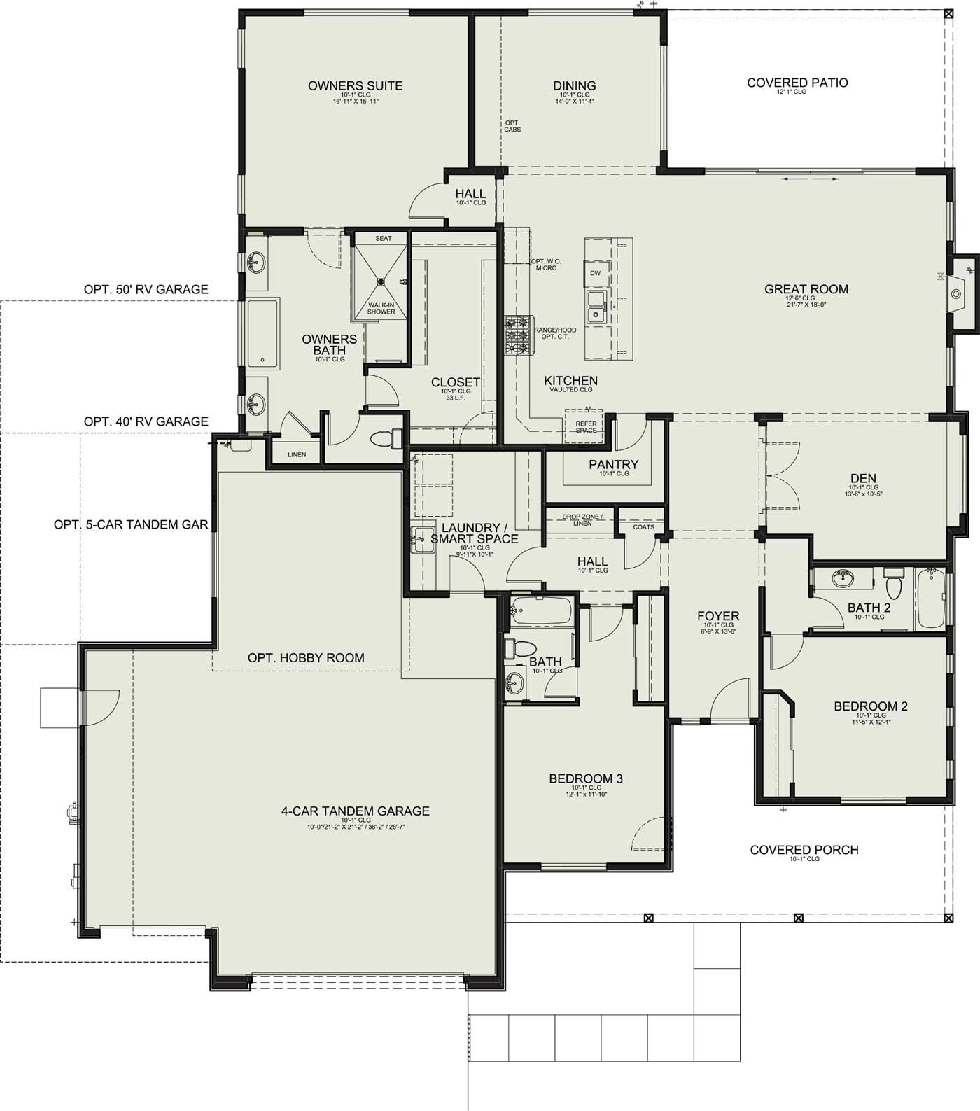 Homestead Floorplan