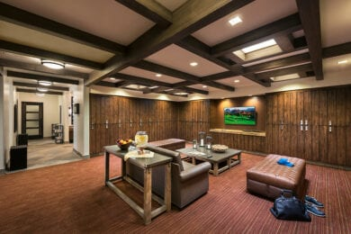 Locker Rooms at Seven Canyons