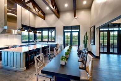 Sedona Ranch Ranch House Kitchen