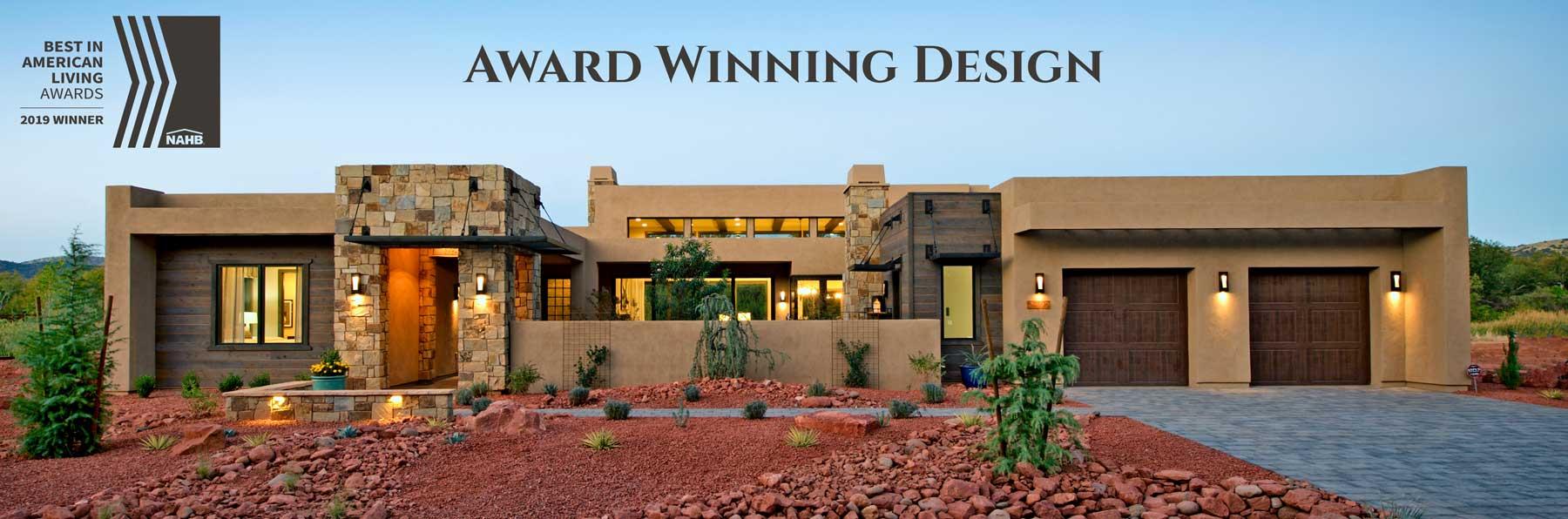 Award Winning Home Designs at Sedona Ranch