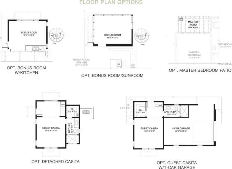 Enchantment Floorplan Options